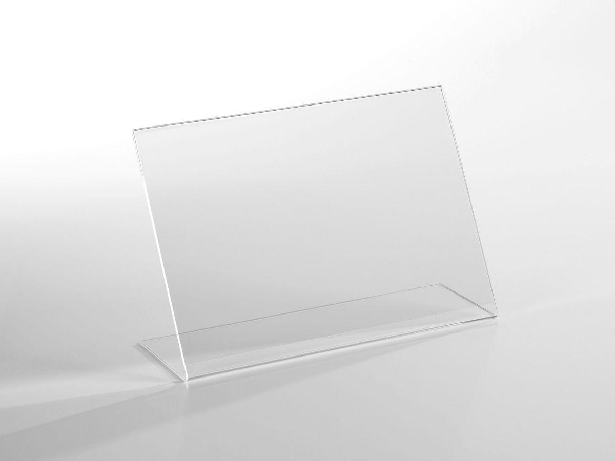 porte visuel chevalet a3 paysage en plexiglas pluxi fabricant plexiglas. Black Bedroom Furniture Sets. Home Design Ideas