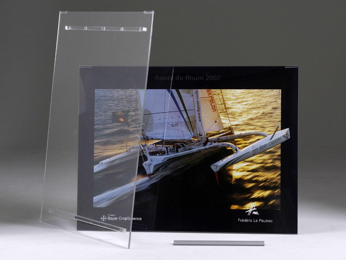 porte affiche mural paysage luxe en plexiglas pluxi fabricant plexiglas. Black Bedroom Furniture Sets. Home Design Ideas
