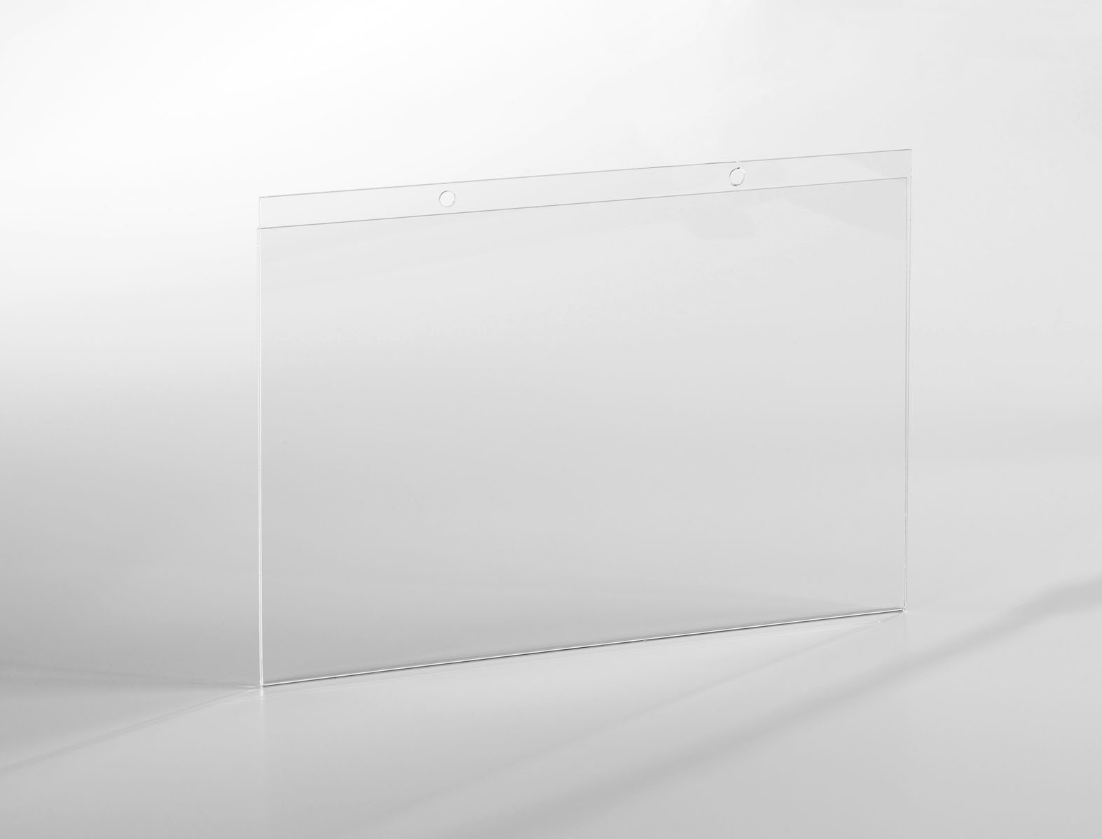 porte affichette a3 paysage fixation par vis en plexiglas. Black Bedroom Furniture Sets. Home Design Ideas